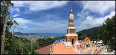 Doi Thepnimit Temple near Patong Burj Khalifa, Phuket, Cn Tower, Statue Of Liberty, Temple, Building, Travel, Statue Of Liberty Facts, Viajes