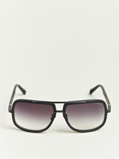 a93e930dabcd Dita Men's Matte Black Mach One Sunglasses Retail Concepts, Matte Black, Men  And Women