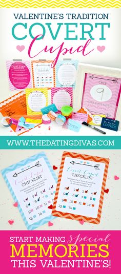 Covert Cupid - A Valentine's Day Tradition! Oh my!! SO cute. www.TheDatingDivas.com