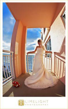 Bride, Wedding gown, Getting ready, Portrait, Hyatt Regency Clearwater Beach, Wedding Photography, Limelight Photography, www.stepintothelimelight.com