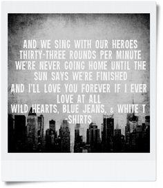 gaslight anthem lyrics | Tumblr