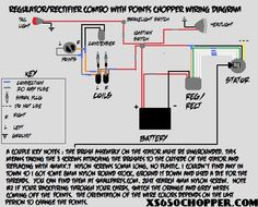 xs650 wiring diagram car pinterest scooters bobbers and cars rh pinterest com 81 XS650 Wiring-Diagram XS650 PMA Electronic Ignition Wiring Diagrams