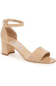 b2440c42e776 Manolo Blahnik  Lauratomod  Ankle Strap Sandal (Women) available at   Nordstrom Designer