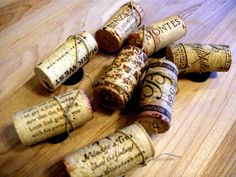 Make the best of everything!: Wine Cork Magnets