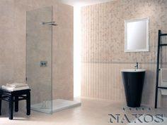 Naxos presenta la collezione di piastrelle per il bagno Ghibli, unica nel suo genere, dai toni caldi e vellutati