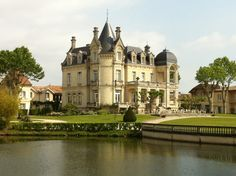 Chateau Grand Barrail in Libourne, Aquitaine  [1000 places to see before you die]