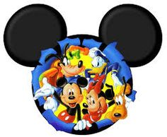Image result for clipart turma do mickey