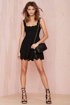 I'm Yours Dress - Black - Going Out | Fit-n-Flare | LBD | Dresses | Party Perfect | LBD | All | Cyber Monday Dresses | The Sultry Siren