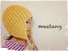 ニット帽の編み方(大人サイズ)How to crochet a knitted hat for adult - YouTube