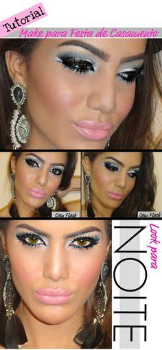 grey, silver eyes makeup