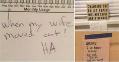 Hilarious Roommate Notes