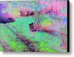 The Lonely Chair Canvas Print / Canvas Art By Dorothy Berry-lound #interiordecor #printforsale
