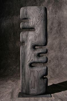 Thierry Martenon ~ Wood Sculpture 2011 (Frêne, Ash Wood)