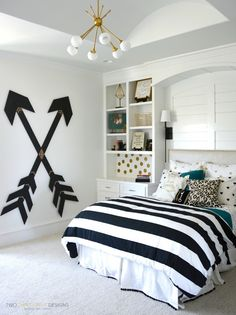 Tween Girl Bedroom w