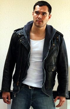 212 Best Black Leather Jacket Guys Images In 2019 Black Leather