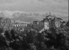 Convento de los Mártires, demolido en 1842.