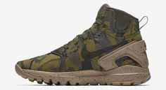 official photos 824b3 36637 The Nike Koth Ultra Mid is rendered in two camouflage variations for this Fall  Find it at Nike retailers starting this month.