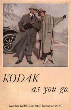 Vintage Camera Ads Part VI:  Take Your Camera Wherever You Go