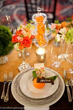 From Jan. 2012 Bravo Wedding Affair. Room coordinator - Soiree Special Events. Floral - Crystal Lilies. Photographer - David Barss. Calligraphy - Alesia Zorn