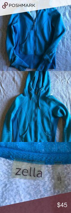 Zella zip up hoodie size S Zella blue zip up hoodie size S from Nordstrom. Super cute and comfy! Zella Other