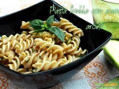 Pasta fredda con zucchine e aromi  #ricette #food #recipes