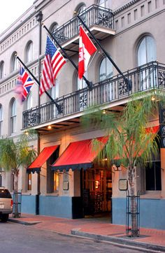 Prince Conti Hotel French Quarter! Where we are staying in New Orleans
