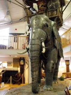 "The Circus ""NO SPIN ZONE"": Elephant Armor--Stratford Armories"