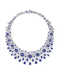 Sapphire – A Regal Beauty Graff Carissa necklace