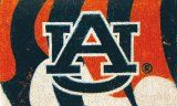 NCAA Football Auburn Tigers Coir Coco Welcome Mat – Doormat. $32.99 Only.