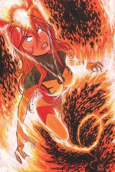 Jean Grey - Dark Phoenix by Micah Gunnell *