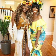 what you guys don't know is that i have to stay as far away from as possible when we are in the circle. she is terrible! Celebrity Baby Showers, Celebrity Babies, Eva Marcille, Cynthia Bailey, Far Away, When Us, Baby Shower Themes, Flower Power, Sari