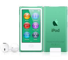 APPLE iPod nano 16 Go vert (7ème génération) - NEW + Casque pliable HA-S360 blanc prix promo Pixmania 169.00 € TTC