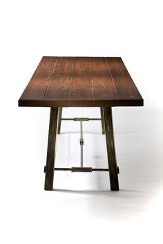 Handmade Rustic Dining Table by Jg Custom Design | CustomMade.com
