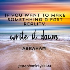 Never underestimate the power of the written word!