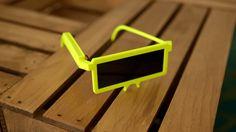 Retrotastic 3D Printed Electronic Sunglasses from Adafruit