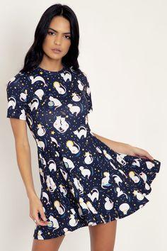 Holly Black, My Black, Scorpio Traits, Black Milk Clothing, Princess Seam, Tee Dress, Silhouette, Soft Fabrics, Zodiac