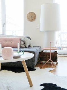 hay dlm in pink and normann copenhagen tablo