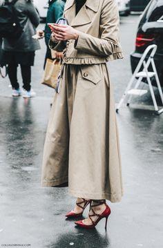 "dustjacketattic: "" ruby red heels | paris fashion week by collage vintage """