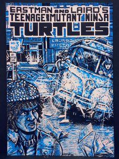 1984 Teenage Mutant NINJA TURTLES 3 First 1st Printing COMIC TMNT App VF Rare