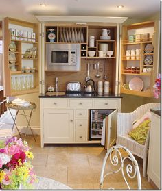 KITCHEN IN A CUPBOARD (GREAT FOR COTTAGE OR BASEMENT LIVING AREA)