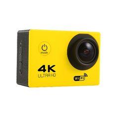 Tekcam F60 Sensor OV4689 4K 2.0inch 170 HD Wide Angle Lens Wifi Sport DV with Accessories