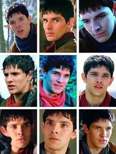The faces of Merlin