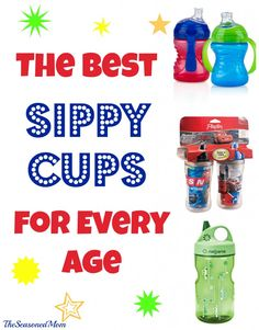 The Best Sippy Cups for Every Age