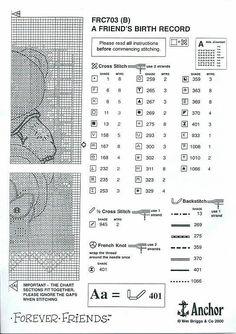Para los peques... en punto de cruz | Aprender manualidades es facilisimo.com