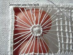 Hardanger Embroidery, White Embroidery, Embroidery Stitches, Hand Embroidery, Drawn Thread, Thread Work, Needle Lace, Bobbin Lace, Cutwork