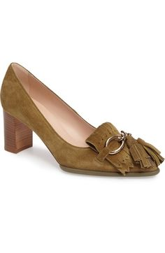Tod's Loafer Pump (Women) available at #Nordstrom