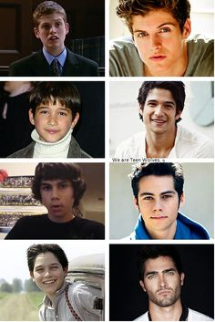 Teen Wolf Boys - Before and After shows you don't judge a book by its cover !!! Damn!