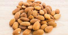 Almond on wooden background , Almond, Food, Essen, Almond Joy, Meals, Yemek, Almonds, Eten