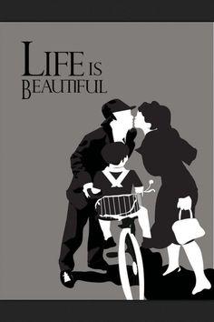 Minimalist Movie Poster: Life is Beautiful