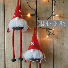 Wichtelchlaus Christmas Gnome, Christmas Ornaments, Shops, Scandinavian, Holiday Decor, Fabric, Crafts, Diy, Advent